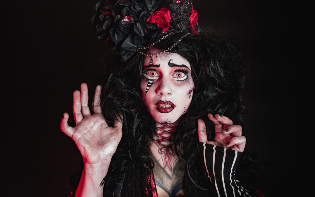 Halloween 'Tim Burton Inspired' Shoot